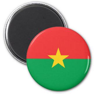 Flag of Burkina Faso - Drapeau du Burkina Faso Magnet