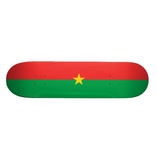 Flag of Burkina Faso Skateboard Deck