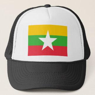 Flag of Burma Trucker Hat