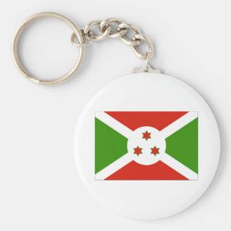 Flag of Burundi Keychain