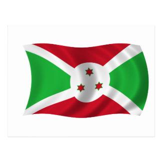 Flag of Burundi Postcard