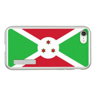 Flag of Burundi Silver iPhone Case
