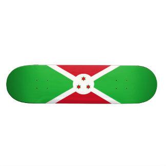 Flag of Burundi Skateboard Deck