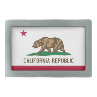 Flag of California Belt Buckle