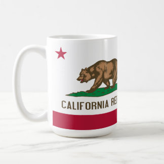 Flag of California Coffee Tea Mug