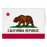 Flag of California Greeting Card