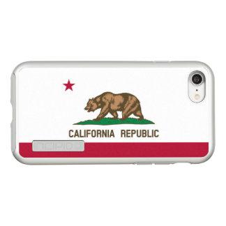 Flag of California Silver iPhone Case