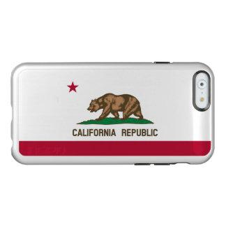Flag of California Silver iPhone Case Incipio Feather® Shine iPhone 6 Case