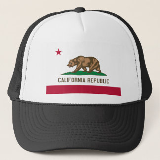 Flag of California Trucker Hat