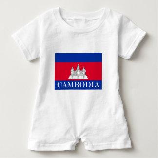 Flag of Cambodia Baby Romper