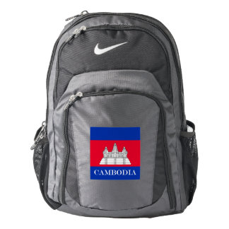 Flag of Cambodia Backpack
