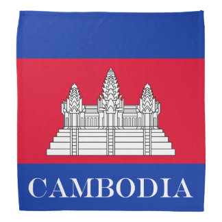 Flag of Cambodia Bandana