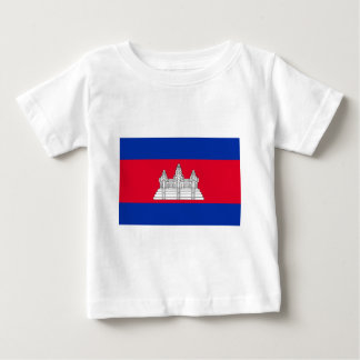 Flag of Cambodia - Cambodian Flag Baby T-Shirt