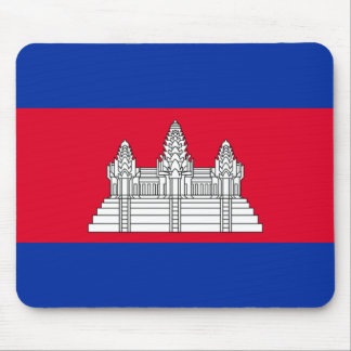 Flag of Cambodia - Cambodian Flag Mouse Pad