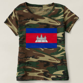 Flag of Cambodia - Cambodian Flag T-shirt