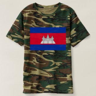 Flag of Cambodia - Cambodian Flag T-shirt