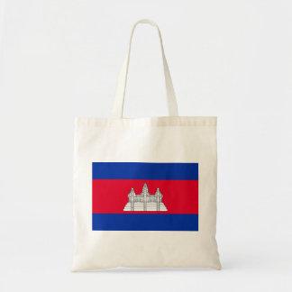 Flag of Cambodia - Cambodian Flag Tote Bag