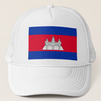 Flag of Cambodia - Cambodian Flag Trucker Hat