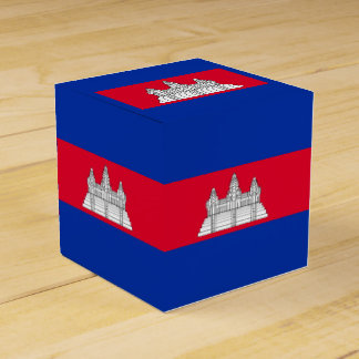 Flag of Cambodia Favor Box