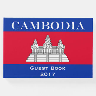 Flag of Cambodia Guest Book