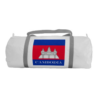 Flag of Cambodia Gym Bag