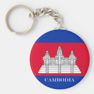 Flag of Cambodia Keychain
