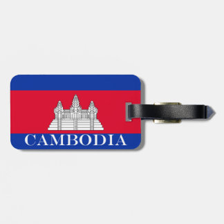 Flag of Cambodia Luggage Tag