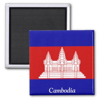 Flag of Cambodia Magnet