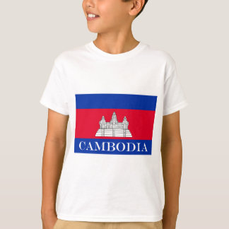 Flag of Cambodia T-Shirt
