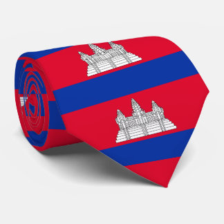 Flag of Cambodia Tie