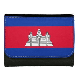 Flag of Cambodia Women's Wallets