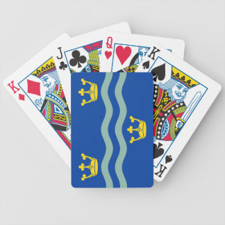 Flag of Cambridgeshire Bicycle Playing Cards