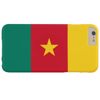Flag of Cameroon Barely There iPhone 6 Plus Case