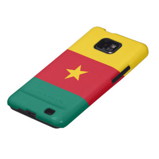 Flag of Cameroon Samsung Galaxy S2 Case