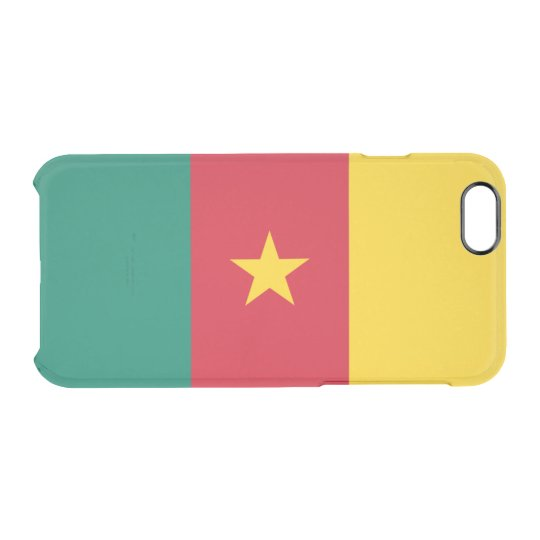 Flag of Cameroon Clear iPhone Case