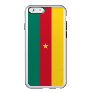 Flag of Cameroon Silver iPhone Case Incipio Feather® Shine iPhone 6 Case