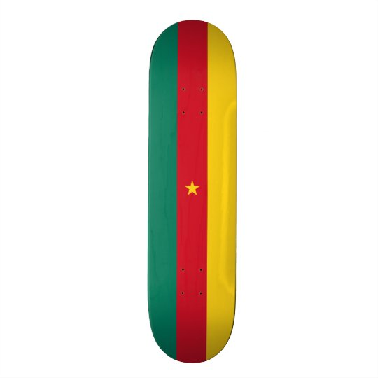 Flag of Cameroon Skateboard Deck