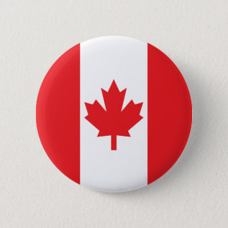 Flag of Canada 2 Inch Round Button