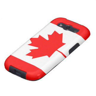 Flag of Canada Galaxy SIII Covers