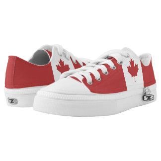Flag of Canada - Drapeau du Canada Low-Top Sneakers