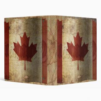 Flag of Canada / Grunge... 3 Ring Binder