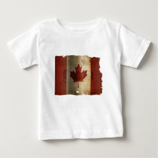 Flag of Canada / Grunge... Baby T-Shirt