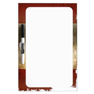 Flag of Canada / Grunge... Dry Erase Board