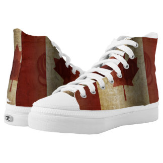 Flag of Canada / Grunge... High Tops