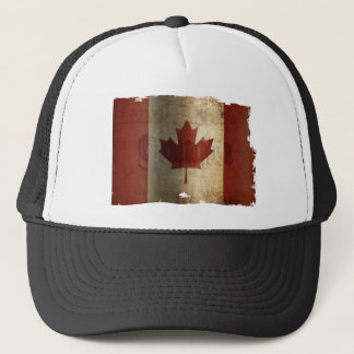 Flag of Canada / Grunge... Trucker Hat