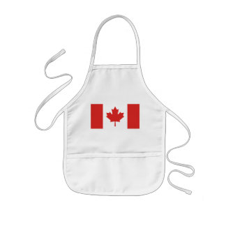 Flag of Canada Kids Apron
