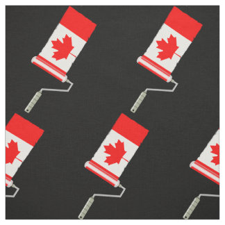 Flag of Canada Paint Roller Fabric