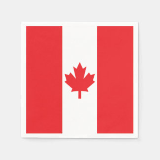 Flag of Canada Paper Napkins