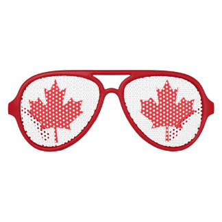 Flag of Canada Party Sunglasses