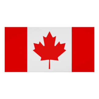 Flag of Canada Poster